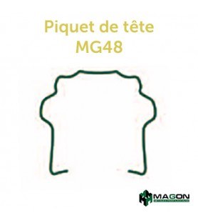 PIQUET DE TETE MG48
