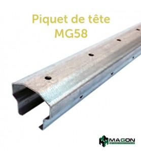 PIQUET DE TETE MG58